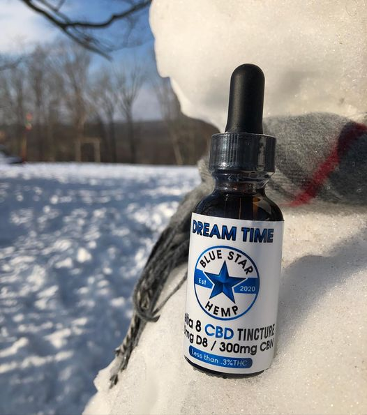 Dream Time - Delta 8 Tincture with CBN 600MG