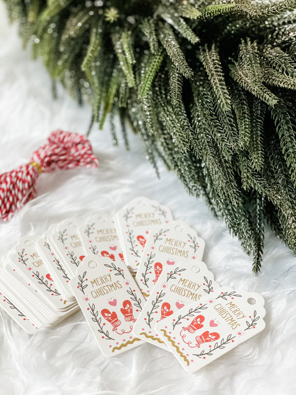 Holiday Gift Tags - Set of 50