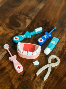 Dental Wooden Toy Set
