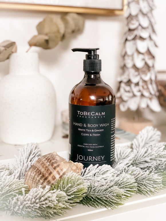 To Be Calm Journey Hand & Body Wash - White Tea & Ginger (Preorder)