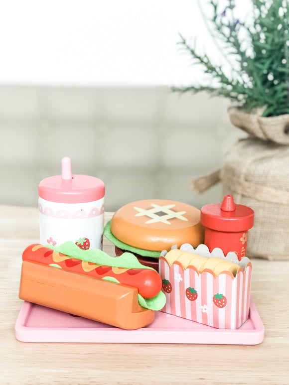Burger and Hotdog Toy Set