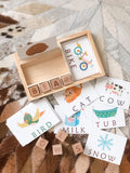Wooden Spelling Set