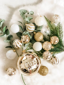 Joyeux Noel - Set of 17 Baubles