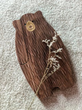 Handcrafted Brown Bear Board