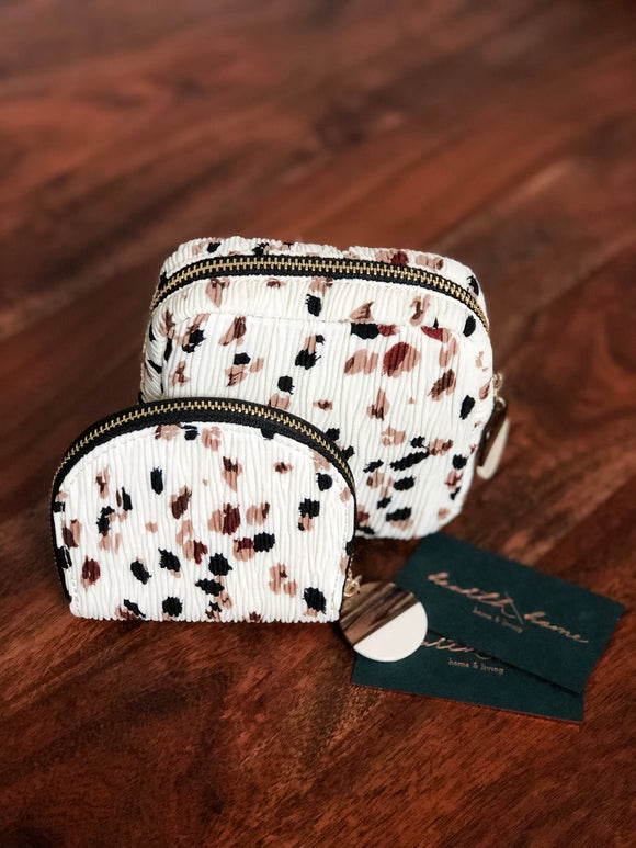 Terrazzo Zippered Pouch