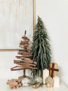 Alpine Faux Christmas Tree