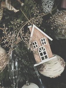 A Little Cottage Ornament