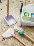 Wooden Cleaning and Recycling Set