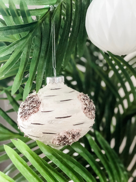 Hannah - Handmade Textured Bauble