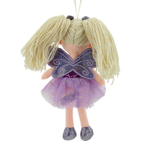 Sweety Toys 11766 Stoffpuppe Fee Plüschtier Prinzessin 30 cm lila