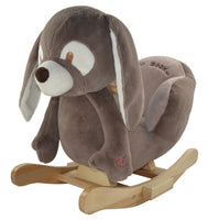 "Sweety Toys 4850 Schaukelstuhl Hase ""Ryan the dark brown rocking rabbit"""