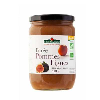PUREE POMME FIGUES 630G