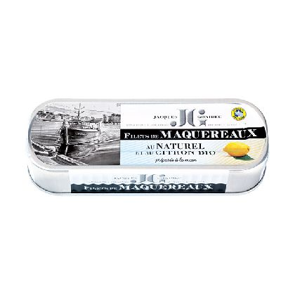 FILETS MAQUEREAUX CITRON 176G