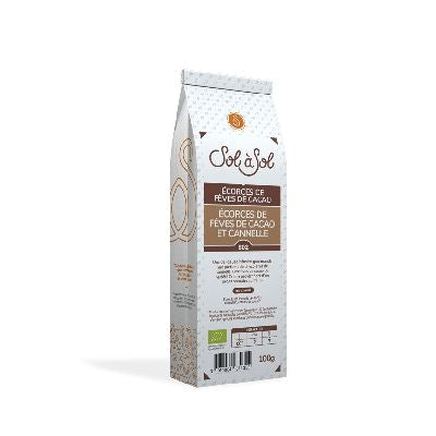 ECORCES FÈVES CACAO CANNELLE