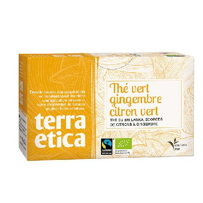THE VERT GINGEMBRE CITRON 36G