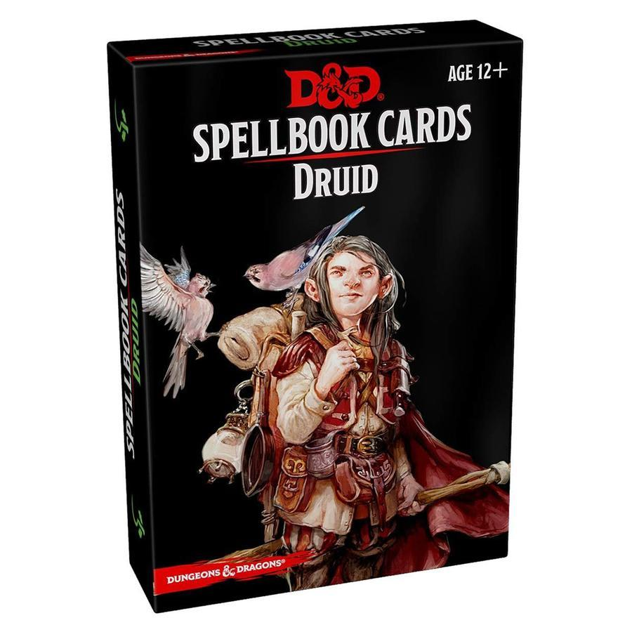 D&D Spellbook Cards Druid Deck (131 Cards) Revised 2018 Edition - Mega Games Penrith