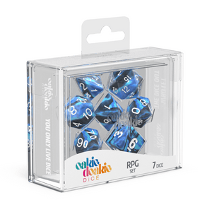 Oakie Doakie Dice RPG Set GemiDice - Twilight Stone (7) - Mega Games Penrith