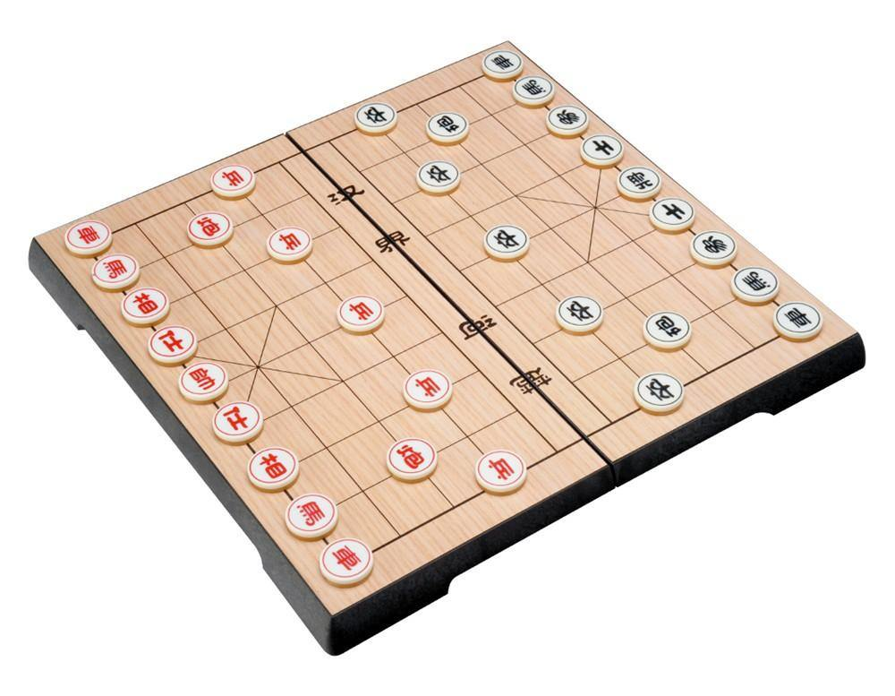 Chinese Chess Magnetic 12in Folding