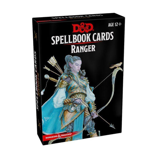 D&D Spellbook Cards Ranger Deck (46 Cards) Revised 2017 Edition - Mega Games Penrith