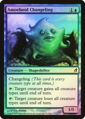 Amoeboid Changeling Lorwyn (Foil) - Mega Games Penrith