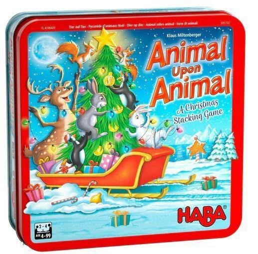 Animal Upon Animal A Christmas Stacking Game - Mega Games Penrith