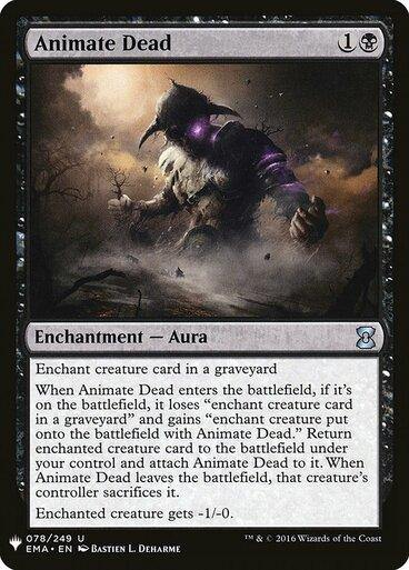 Animate Dead Eternal Masters