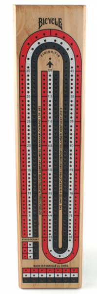 Bicycle Cribbage 3 Track Coloured - Mega Games Penrith