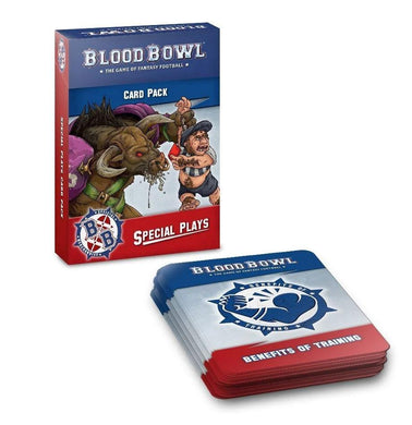 Warhammer Blood Bowl Second Season Edition Special Plays Cards - Mega Games Penrith