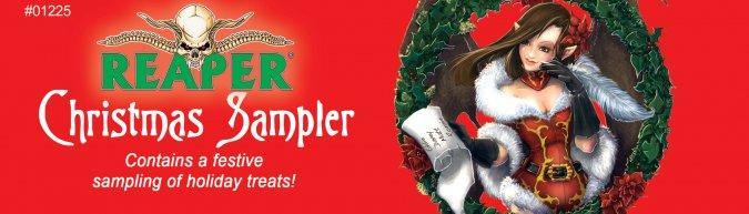 Reaper Christmas Sampler Krampus, Unpainted. - Mega Games Penrith