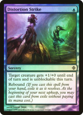 Distortion Strike Rise of the Eldrazi (Foil) - Mega Games Penrith