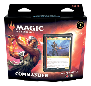 Magic the Gathering Commander Legends Arm For Battle Commander Deck