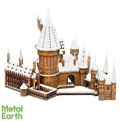 Metal Earth Iconx Harry Potter Hogwarts In Snow - Mega Games Penrith