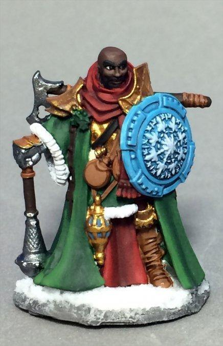 Reaper Sir Ulther, Christmas Knight Metal Figure, Unpainted. - Mega Games Penrith