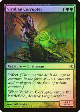Viridian Corrupter Mirrodin Besieged (Foil) - Mega Games Penrith