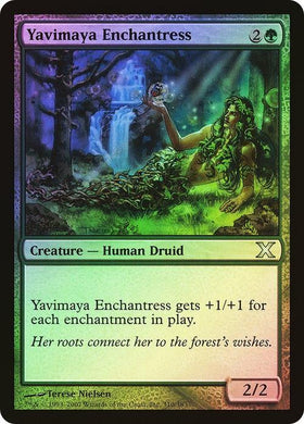 Yavimaya Enchantress 10th Edition (Foil) - Mega Games Penrith