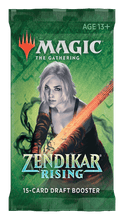 Load image into Gallery viewer, Magic: The Gathering - Zendikar Rising Draft Booster Pack - Mega Games Penrith