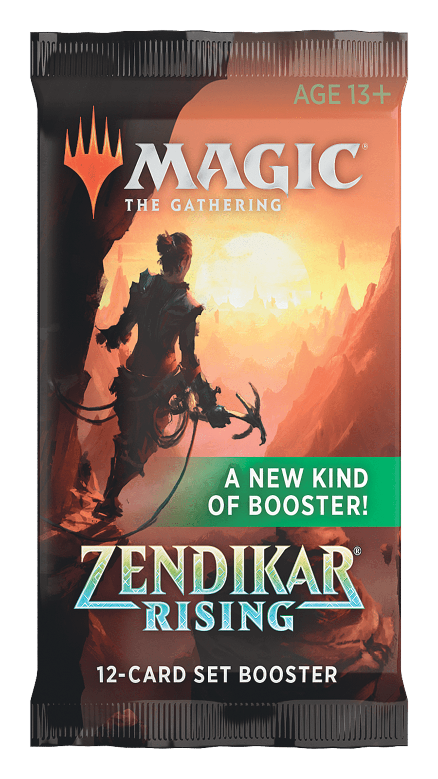 Magic: The Gathering - Zendikar Rising Set Booster Pack