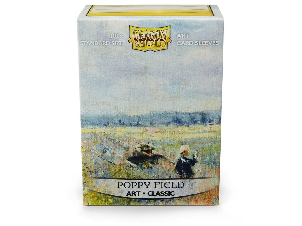 Sleeves - Dragon Shield - Box 100 - Poppy field - Mega Games Penrith