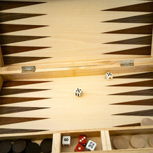 Load image into Gallery viewer, Family Classics Wooden Folding Backgammon Case 45cm