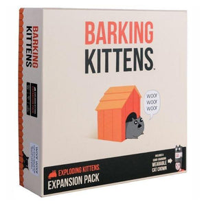 Barking Kittens - 3rd Expansion of Exploding Kittens