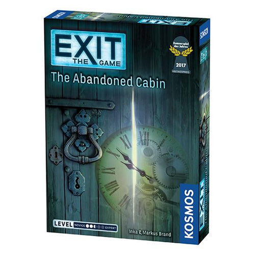 Exit The Game: The Abandoned Cabin Puzzle Game - Mega Games Penrith