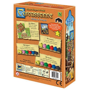 Carcassonne Expansion #5 Abbey & Mayor - Mega Games Penrith