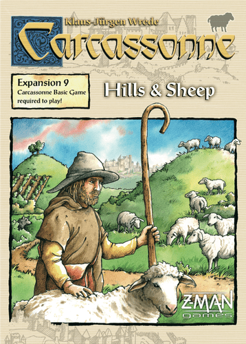 Carassonne 9 Hills And Sheep Exp - Mega Games Penrith