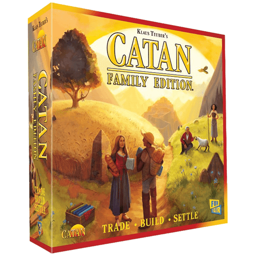Catan Family Edition Board Game - Mega Games Penrith
