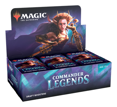 Magic the Gathering Commander Legends Draft Booster Box - Mega Games Penrith