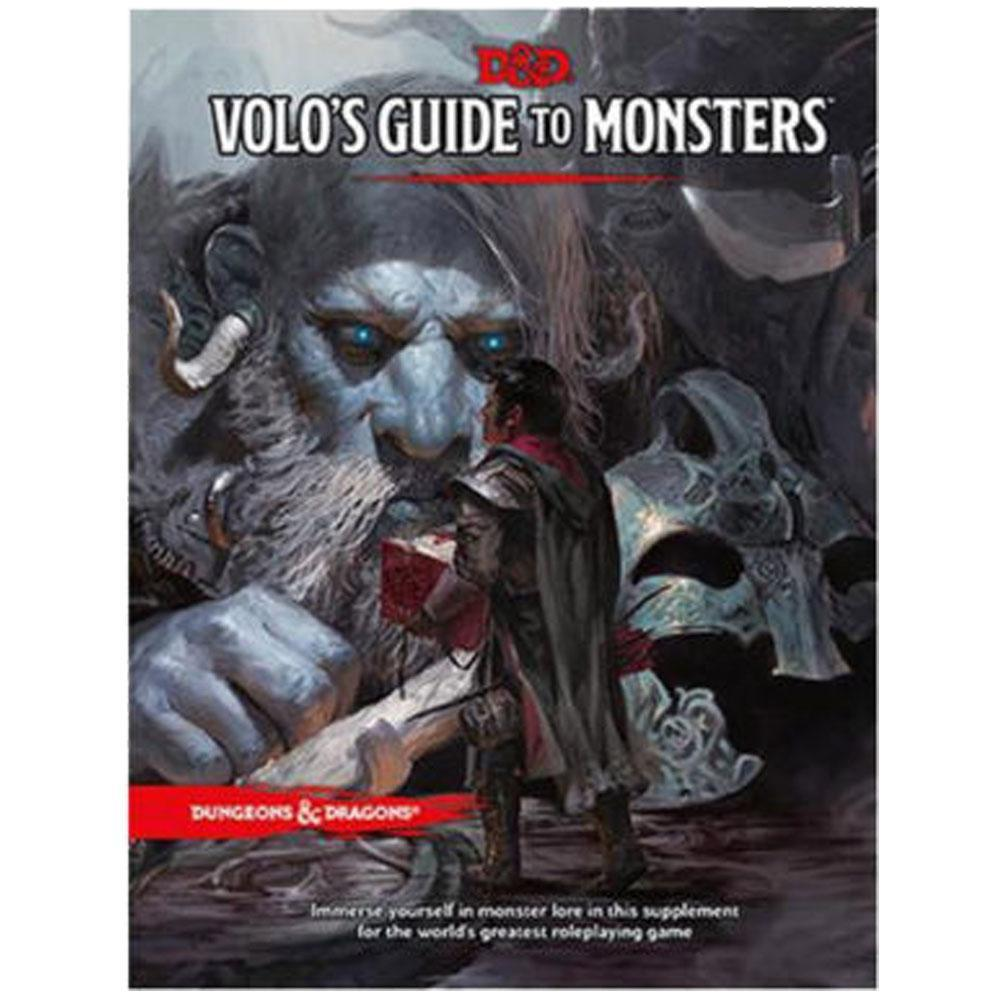 D & D Volos Guide To Monsters Standard - Mega Games Penrith