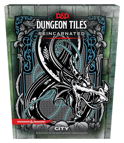 D&D Dungeon Tiles Reincarnated City - Mega Games Penrith