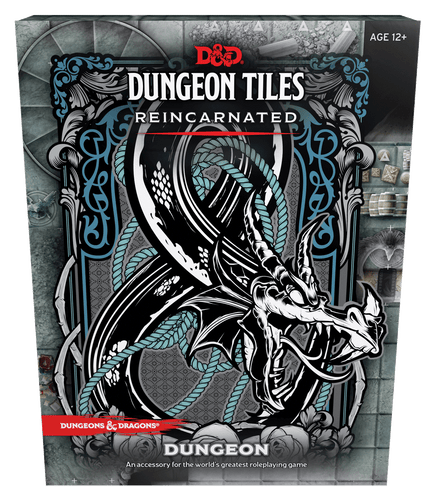 D&D Dungeon Tiles Reincarnated Dungeon - Mega Games Penrith