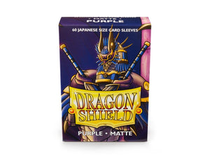 Sleeves - Dragon Shield Japanese- Box 60 - Gold MATTE - Mega Games Penrith