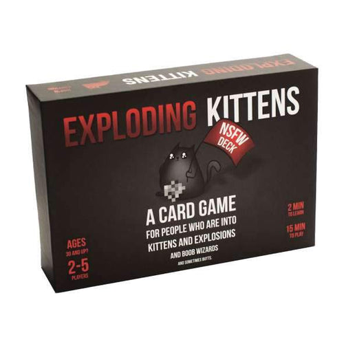 Exploding Kittens NSFW Edition - Mega Games Penrith